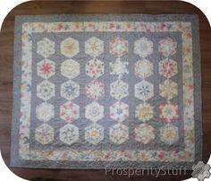 ProsperityStuff Quilts: A Kaleidoscope Finish!
