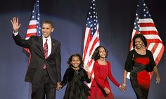 pictures of the obama family for free download   The Obama family awaiting Santa's arrival.   The Obamas   Pinterest ...