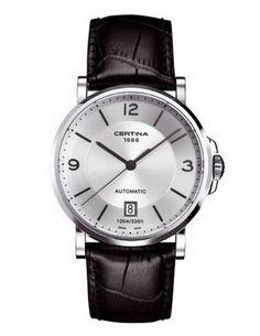 Certina DS Caimano Automatic Silver Dial Black Leather Mens Watch C017.407.16.037.00, http://www.amazon.com/dp/B009EOD0UA/ref=cm_sw_r_pi_awdm_EklVvb1HKXR94