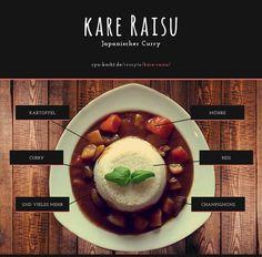Kare Raisu japanischer Curry ganz einfach | Rezept | Ryu-kocht.de