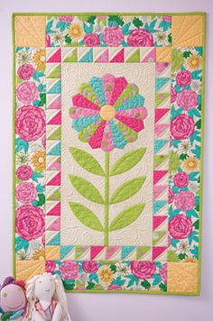 """""""Mum's the Word"""" pattern and kit by Bloom Creek"""
