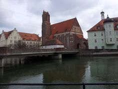 Landshut from the river Isar