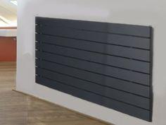 AGADON P1 Anthracite Flat Panel Designer Radiator 1200 X 595MM: Amazon.co.uk: Kitchen & Home