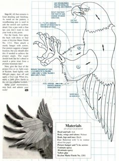 American Eagle Intarsia Patterns - Intarsia