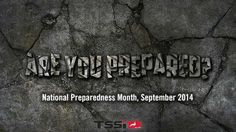 National Preparedness Month - how will you prepare? Check out our blog for tips and products to help you through unexpected disasters.