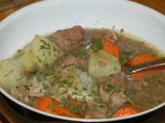 AIP Irish Stew from Where the Wild Rose Grows featured on March 28,2015.