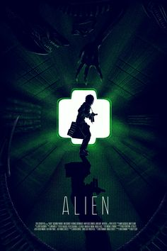 Alien Movie Series, Alien Film, Aliens Movie, Horror Movie Posters, Movie Poster Art, Horror Movies, David Fincher, Sci Fi Movies, Good Movies