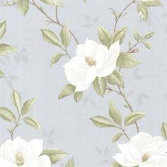 Blue Cressida Magnolia Trail Wallpaper