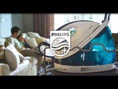 Ziua calcatului alaturi de statia de calcat Philips Perfect Care Viva. Mai mult timp petrecut cu familia