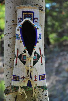 Beaded Toy Cradle Board    Ron Schumacher    Cheyenne River Sioux