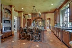 Majestic French Château in Texas 46