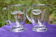Mr. & Mrs. or Personalized Coffee/Mocha/Beverage Mug - 16 oz
