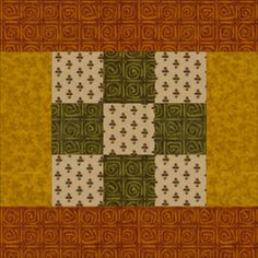 It's Easy to Make Warm and Cozy Framed Nine Patch Quilt Blocks: How to Make Framed Nine Patch Blocks