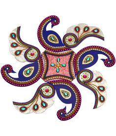 10 OFF on Creative Home Decor Peacock Rangoli Acrylic on Snapdeal . Diwali Craft, Diwali Rangoli, Rangoli Designs Images, Beautiful Rangoli Designs, Diwali Decorations, Festival Decorations, Kalash Decoration, Acrylic Rangoli, Peacock Rangoli