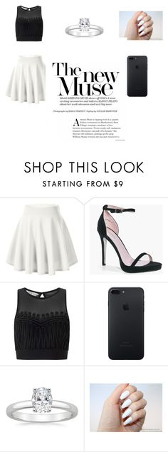 """""""👗👡👜👒"""" by adna-257 ❤ liked on Polyvore featuring beauty, Boohoo and Miss Selfridge"""