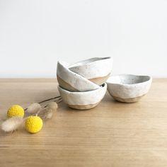 Ceramic Pinch Pots, Serving Bowls, Decorative Bowls, Fox, Ceramics, Tableware, Etsy Shop, Ceramica, Pottery