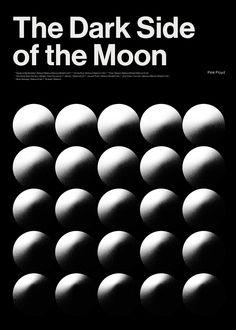 """the dark side of the moon"" by alina rybacka-gruszczyńska / poland, 2019 / digital print, 594 x 841 mm Pink Floyd Poster, Communication Design, Visual Identity, Dark Side, The Darkest, Digital Prints, Moon, Graphic Design, Poland"