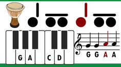 For sure to use with boomwhackers or with hand drums!