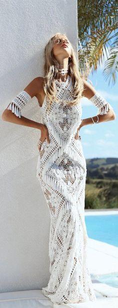 Ideas Wedding Dresses Vintage Bohemian Boho Rue De Seine For 2019 Short Beach Dresses, Trendy Dresses, Sexy Dresses, Vintage Dresses, Casual Dresses, Boho Chic, Bohemian Mode, Boho Style, Hippie Bohemian