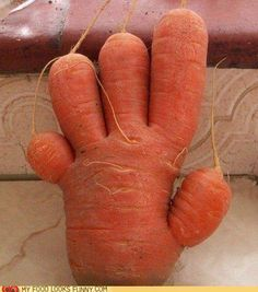 High five for carrots!