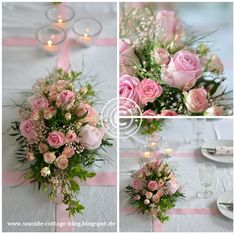 Blumengestecke Selber Machen Für Die Tischdeko Lange Runde Oder