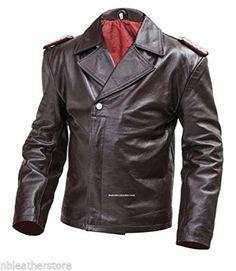 German Leather U Boat Kriegsmarine jacket BROWN - Panzer wrap style - 1950s Jacket Mens, Cargo Jacket Mens, Grey Bomber Jacket, Green Cargo Jacket, Lambskin Leather Jacket, Leather Men, Leather Coats, Leather Jackets, Brown Leather
