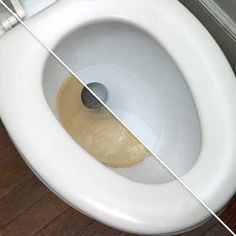 Toilet Stain Remover 1 cup borax 1/4 cup lemon juice or vinegar Combine, pour into potty, wait 20 minutes, scrub as usual.