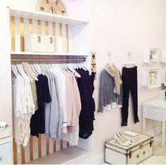 #closet     Source: Blush - www.blushshop.ca/galleries/instagram/#sthash.MiaXI884.qjtu  View entire slideshow: Amazing Closets on http://www.stylemepretty.com/collection/193/