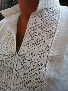 Ukrainian folk embroidery for men