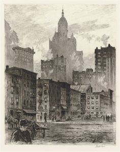 Find the latest shows, biography, and artworks for sale by Martin Lewis. A master of intaglio, Martin Lewis's prints are characterized by the interplay of da… Rockwell Kent, Norman Rockwell, Illustrations, Illustration Art, Environment Painting, Artist Biography, City Art, Traditional Art, American Art