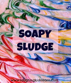 RECIPE 2 cups LUX Pure Soap Flakes cup hot water (to dissolve the flakes) Food colouring (if desired) Hands On Activities, Sensory Activities, Preschool Activities, Sensory Play, Sensory Table, Sensory Bins, Baby Sensory Board, Sensory Boards, Preschool Science