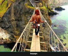 Ponte di corda, Irlanda del nord