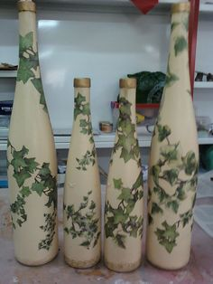 manualideasjcobos: botellas decoradas
