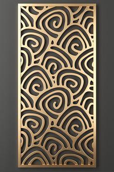 Islamic Art Pattern, Pattern Art, New Ceiling Design, Jaali Design, Room Partition Designs, Laser Cut Panels, Art Deco Rugs, Metal Screen, Grill Design