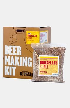 Brooklyn Brew Shop Bruxelles Blonde One Gallon Beer Making Kit