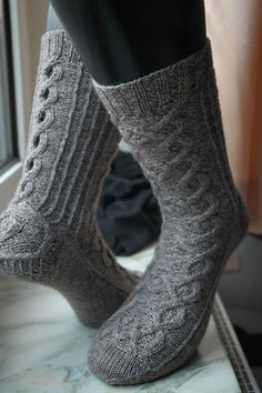 Gollum Socks by Claire Ellen