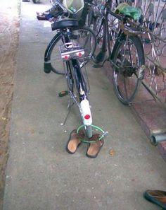 自転車の面白画像