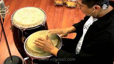 Cómo tocar percusiones -  Ritmo de guajira con congas