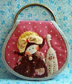 Interesting ideas for decor: Пэчворк от Premravee Hill. Key Pouch, Key Covers, Penny Rugs, Applique Patterns, Small Quilts, Christmas Is Coming, Baby Quilts, Sewing Projects, Christmas Ornaments
