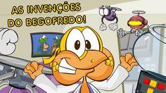 As Invenções Malucas Do Begofredo - Desenho animado infantil, em portugu...
