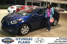 https://flic.kr/p/RXSWiG | Happy Anniversary to Treshawn on your #Hyundai #Elantra from Juan Rojas-Rosales at Huffines Hyundai Plano! | deliverymaxx.com/DealerReviews.aspx?DealerCode=H057