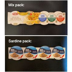 FIDES | BOA PESCA - PORTUGAL Pate Paste - MIX or SARDINE (pack of 4) NEW #FidesBoaPesca Ramen Noodle Soup, Ramen Noodles, Drinks Of The World, Vienna Sausage, Oxtail Soup, Country Ham, Instant Ramen, Flakes, Fishing