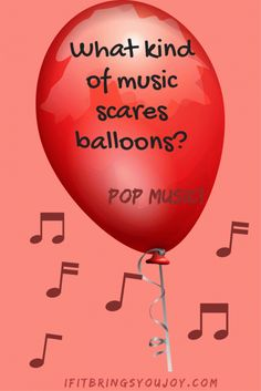 Funny kids balloon joke that is part of a collection of hilarious jokes for kids. Kids AND adults will be laughing at these short, funny jokes! #jokes #kids
