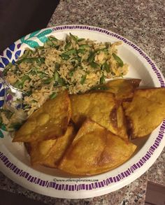 Chicken and Brown Rice Nachos