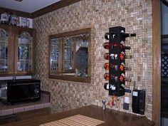 decoração com garrafas rolhas de vinho - Pesquisa Google