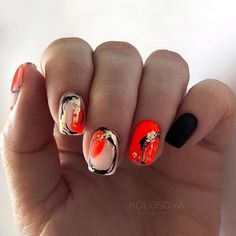 Chic Nails, Stylish Nails, Nails Now, Fun Nails, Semi Permanente, Nagellack Design, Glow Nails, Minimalist Nails, Pretty Nail Art
