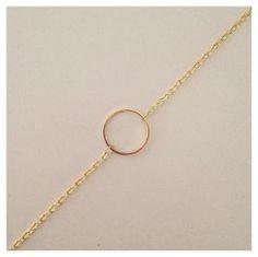 Bracelet rond doré