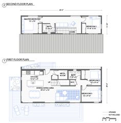 also not a bad prefab plan. Blu Homes Evolution floorplan 4 bedroom