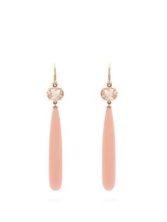 Click here to buy Irene Neuwirth Diamond, garnet, tourmaline & rose-gold earrings at MATCHESFASHION.COM