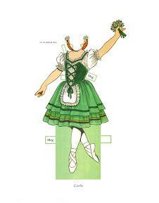 Megan, The Prima Ballerina paper doll - Maria Varga - Picasa Web Albums